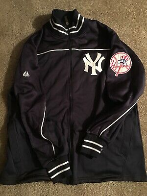 New York Yankee 2006 Field Jacket Majestic Nwt Size Large (l) Game Issued