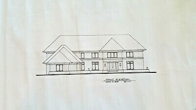 Custom House Plans Blueprints 5200 Sqft Full Set