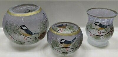 Yankee Candle~7 Pc Set Plus~winter Birds~so So Beautiful~sold Out