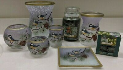 Yankee Candle~9 Pc Set~winter Birds~~sold Out~nib