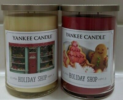Yankee Candle~ Holiday Shop~2 Wick Tumbler