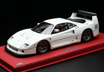Bbr 1/18 Scale Ferrari F40lm 1989 Bianco Color White Condition Good Very Rare 5t