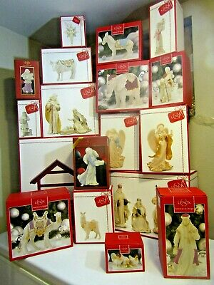 Lenox First Blessing Rare Classic 22 Pc. Nativity Set - Many Retired