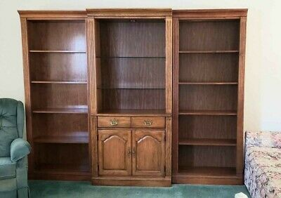 3 Piece Wall Unit/shelves/cabinet/thomasville Bookcase**maryland**