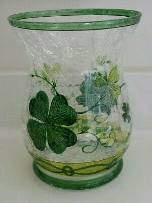 Yankee Candle Crackle Glass~st. Patrick