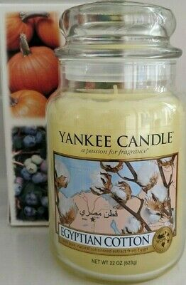 Yankee Candle~egyptian Cotton  22 Oz Candle