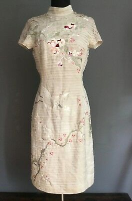 Very Rare, Gucci Tom Ford Japanese Pink Embroidered Dress, S/s 2003