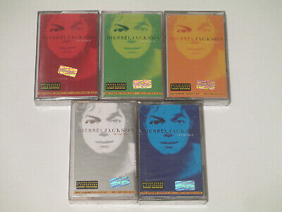 Michael Jackson - Invincible (5 Cassettes) Russia Sealed