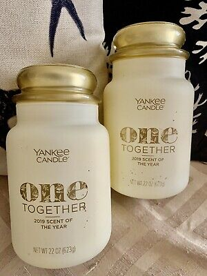 2x One Together Yankee Candle Large Jars