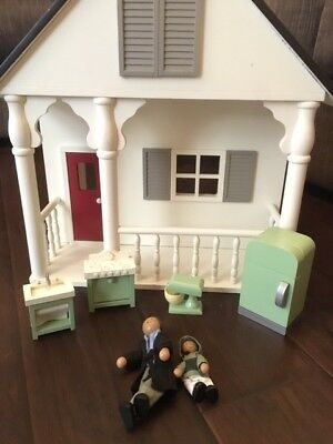 Pottery Barn Kids Cottage Dollhouse With Family