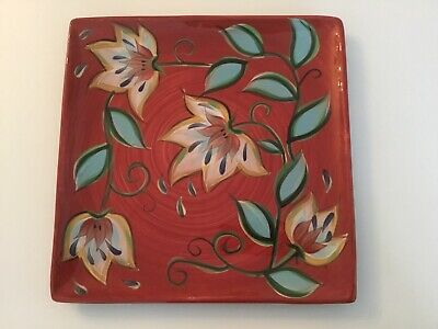 Gail Pittman Red Bountiful Platter For Southern Living At Home