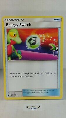 Energy Switch  129/168 S&M: Celestial Storm  Uncommon  Mint/NM  Pokemon