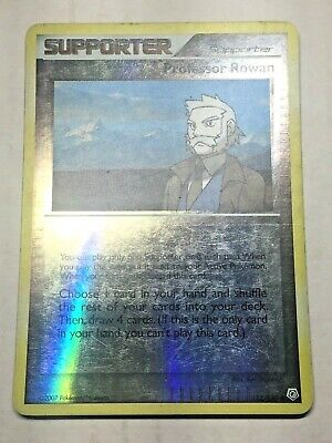 Pokemon Card Diamond & Pearl Reverse Holo Professor Rowan 112/130 FREE SHIPPING!