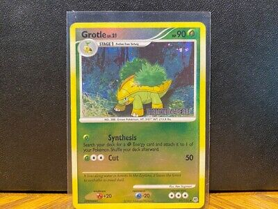 Pokemon Trading Cards Reverse Holo Grotle Diamond & Pearl 2007 49/130 NM