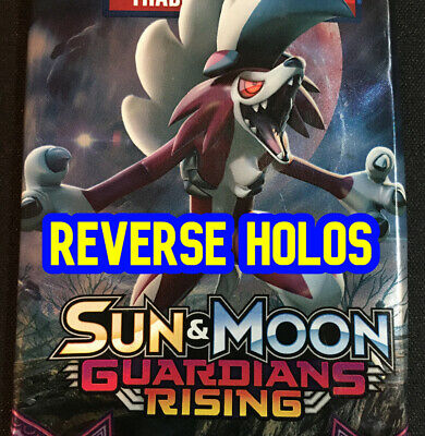 2017 Pokemon Sun & Moon GUARDIANS RISING HOLO Card Singles (You Pick Your Cards)