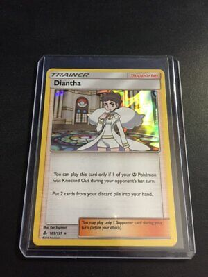 Diantha - 105/131 - Forbidden Light - Pokemon TCG - Holo Rare - *Free Shipping!*