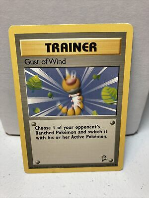Pokemon Base Set 2 COMMON Gust of Wind 120/130 - Near Mint (NM) Condition
