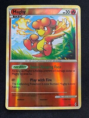 Pokemon - Magby - Call of Legends 46/95 Reverse Holo Uncommon, Near Mint