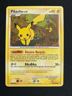 Pokemon - Pikachu - Mysterious Treasures 94/123 Common, Lightly Played