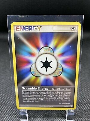 Scramble Energy  - 95/107 - Uncommon Non Holo NM Deoxys Pokemon Card