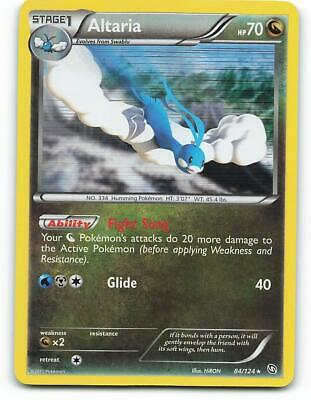 84/124   Altaria HOLO   Dragons Exalted   Pokemon Card   Excellent