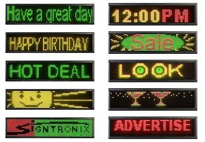 "Signtronix 60 Sx Wireless Led Indoor Sign.  5 Ft. Wide X 15"" Tall."