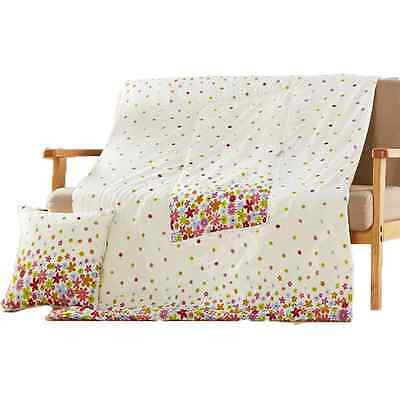 2in1 Throw Pillow And Blanket Combo Cushion/quilt/comforter Soft