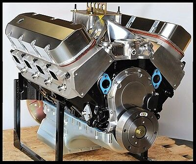 Bbc Chevy 496-505 Engine, Dart Big M Block, Crate Motor 674 Hp Base Engine