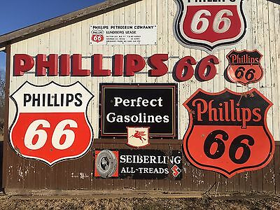 Vintage Wadhams Perfect Gasolines Sign Mobil Pegasus Porcelain Gas Oil Sign Wow!