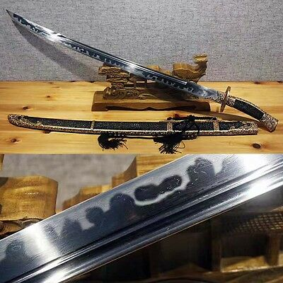 Top Grade Chinese Sword Battle Ready Asian Knife Handmade Sabres