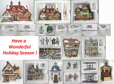 "Dept 56 ""build Your Display"", Items Of Your Choice, Dickens"