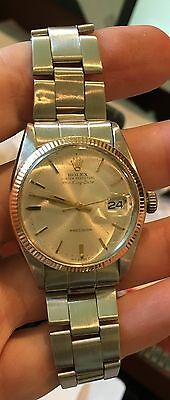 Rolex Vintage Air-king Date 5700 Stainless/gold Circa 1960