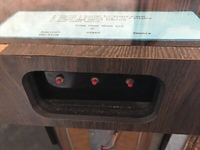 Rare Original Challenge 4 Player Pong Cocktail Table Arcade Game From Early 70s