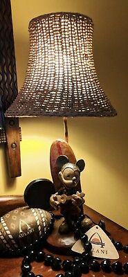 disney mickey mouse surf lamp hawaii honolulu exclusive limited very rare statue