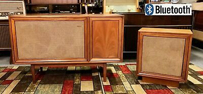 """""""mirage"""" by motorola tube stereo/radio/record console restored and bluetooth ready"""