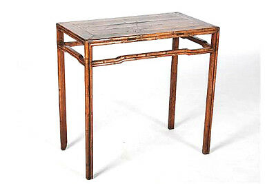 Chinese Rustic Side Table Qing Dynasty 19th C