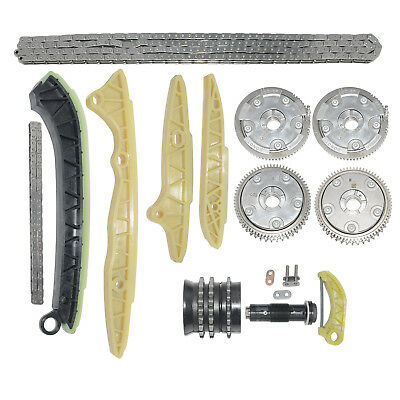 Timing Chain Kit & Camshaft Adjusters Fit Mercedes W211 S211 W212 S212 E280 E300