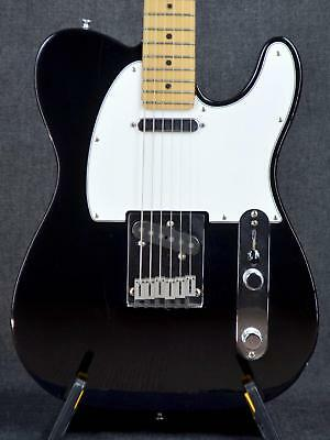 fender usa american standard telecaster blk/m electric guitar
