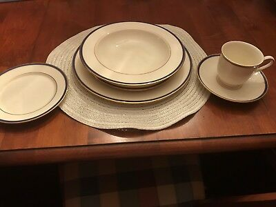 Lenox China  Urban Twilight ~ 220 Piece Lot In New Condition