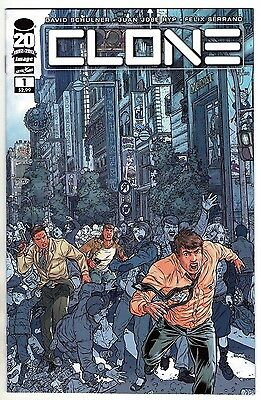 Clone #1 (november 2012, Image), 1st Print, Nm, Skybound, Schulner