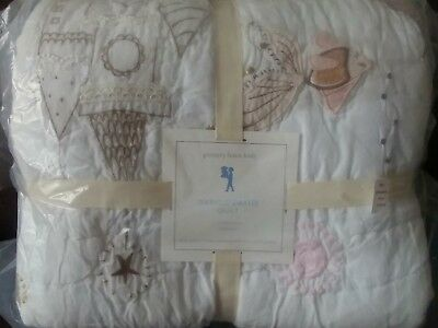 Pottery Barn Kids Isabelle Castle Full Queen Quilt Only Mermaid Sold Out