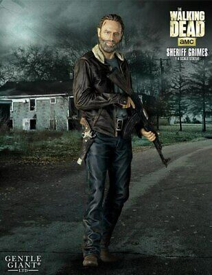 The Walking Dead - Rick Grimes Season 5 1:4 Scale Statue-ggs80461