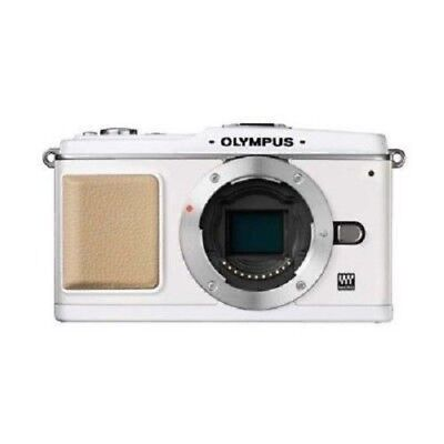 Used Olympus E-p1 12.3mp Body White Excellent Free Shippng