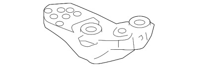 Genuine Volkswagen Mount Bracket 8e0-199-351-m