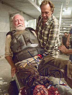 "The Walking Dead Authentic ""zombie"" Signed/sketch By Greg Nicotero (proof)"