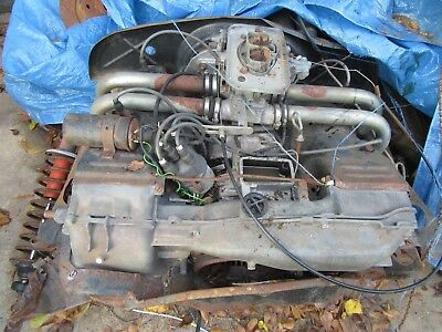 Porsche 914 Vw 411 211 Van 1.7 Liter Engine With Single Carb Used Rebuildable