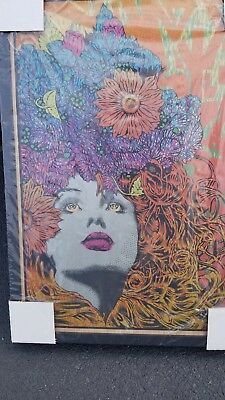 Chuck Sperry Mnemosyne  Art Print Oak Wood Panel Sold Out #/30 Iconic Mint