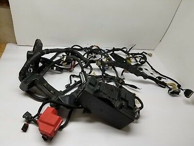 2013 Ford Taurus Engine Compartment Wiring Harness W/ Fuse Box Used Oem