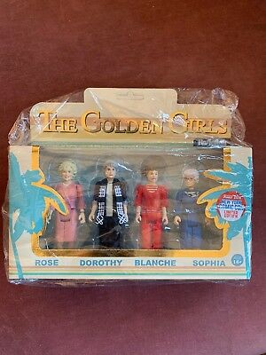Golden Girls Rare Funko Reaction Figure Set Nycc 4-pack! Extremely Rare, Sealed.