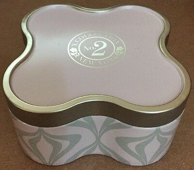 Set Of 4 Yankee Candles Katherine Quatrefoil Tin Y Collection Candle 6.8 Ounces
